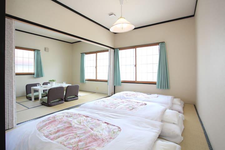 【和室 1~6名貸し切り】/ 富士山駅 徒歩1分 - Fujiyoshida-shi - Wohnung