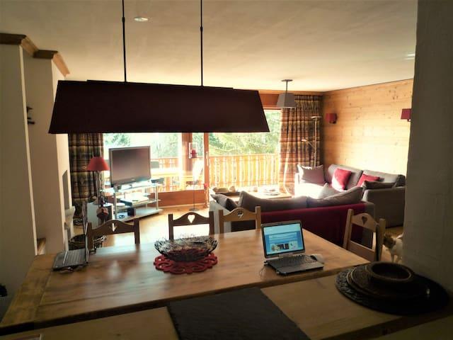 Crans Montana: apartment Luxe & charme, Ski & Golf - Crans Montana - Byt
