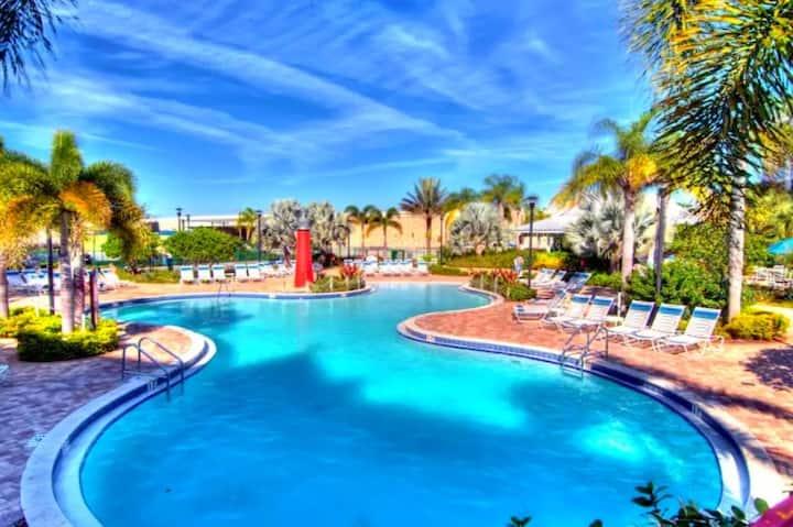Two-Bedroom Villa At Calypso Cay Resort!