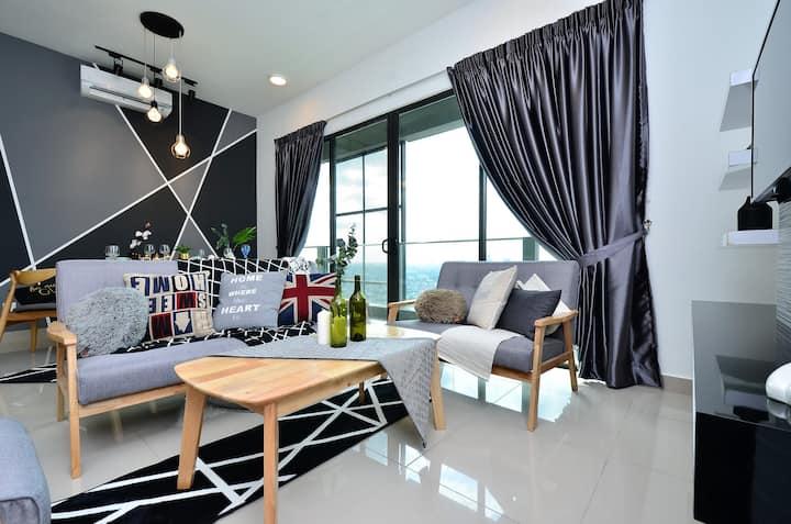 Cozy Space KL PJ Midvalley @Old Klang Road 1-8 Pax