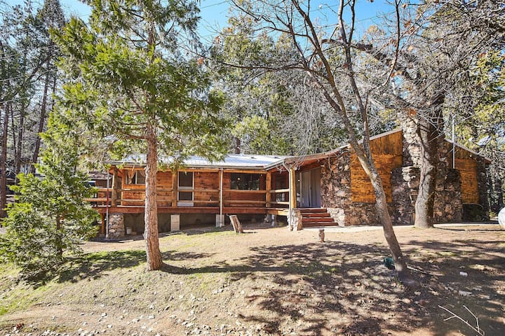 Bass Lake`s Funky Butt Cabin! Brand New Listing!