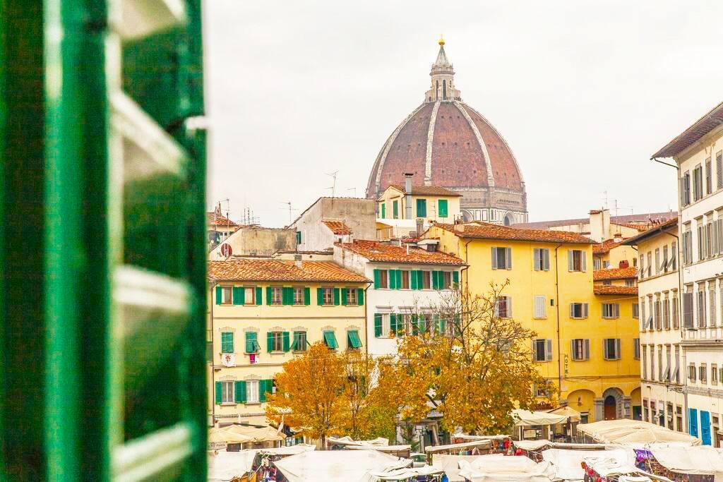 View from the windows La vista dalla finestra