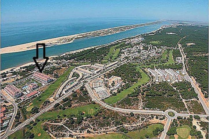Alquiler bonito apartamento vistas al Mar y Golf - El Portil - Leilighet