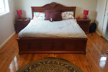 Master bedroom in 4 bedroom house - Greenfield Park