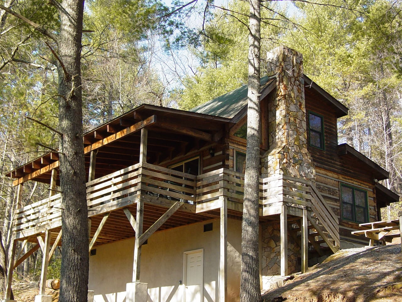 small blowing mountain cabin by nc cabins cottage rentals boone rental in owner tub hot rock log sugar
