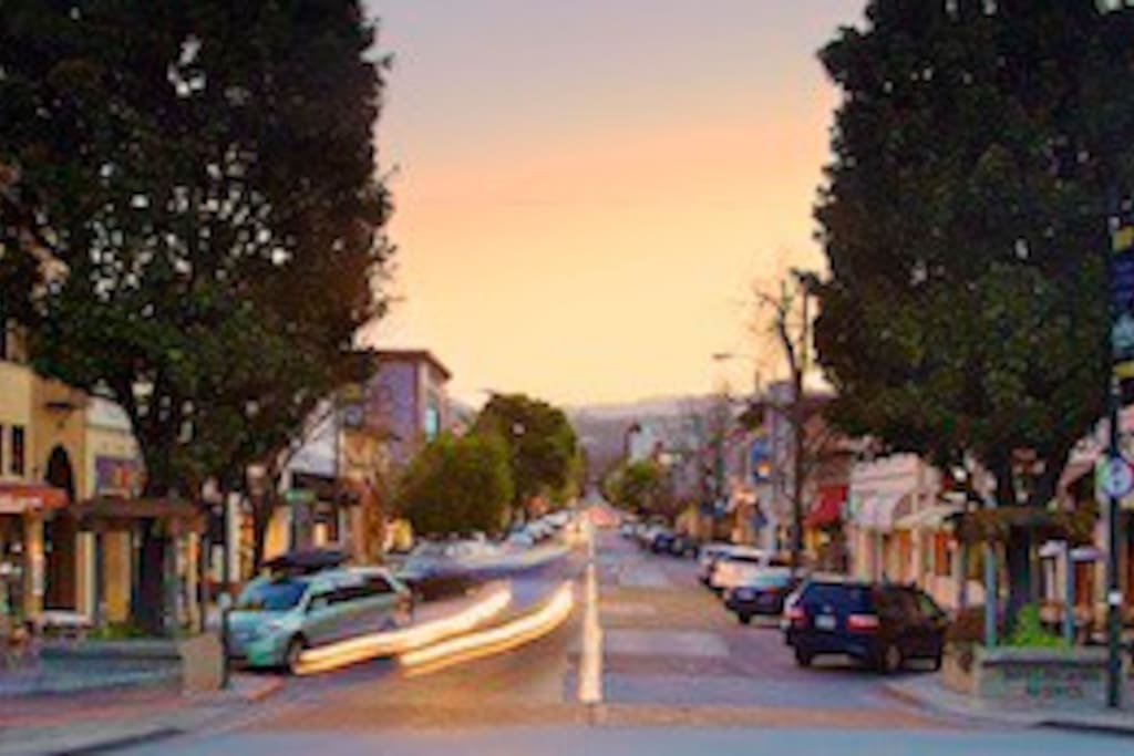 great location burlingame ave