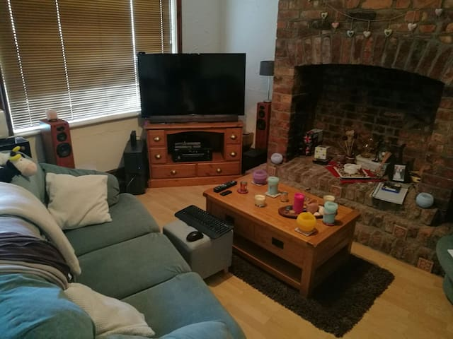 Cosy & friendly house in Manchester - Whitefield - Talo