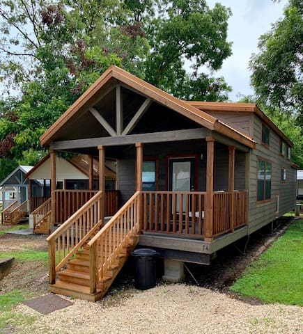 Tiny House 74 on Lake Conroe