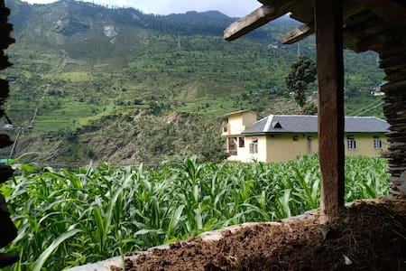 Zen Hamlets Farm stay by Ravi river Chamba Valley