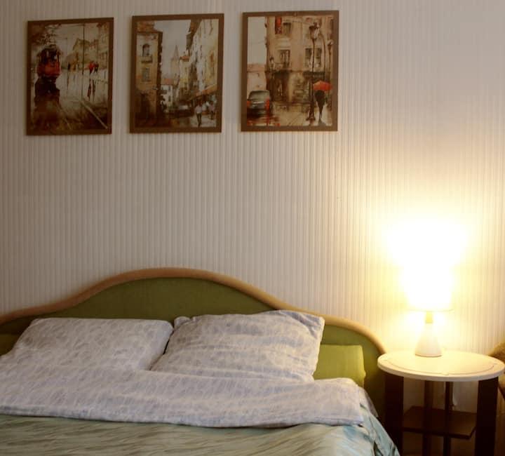 Комфортная квартира с видом на Яблоневый Сад