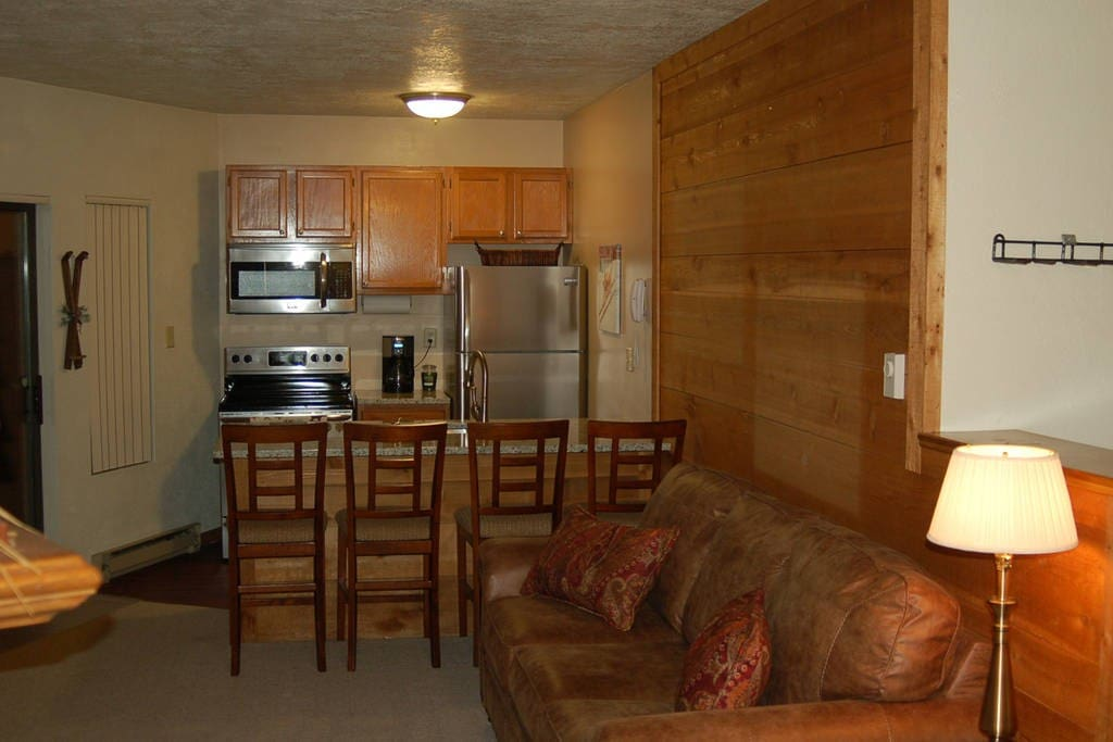 Brand new appliances, counter tops and furnishings make this a great place for your stay!