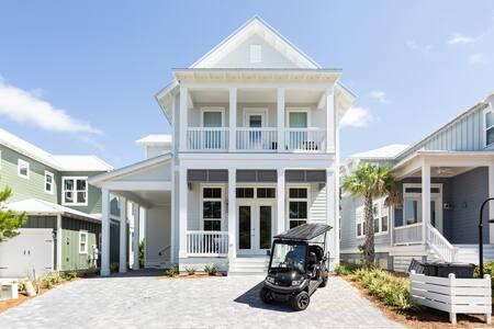 490 Gulfview Cir. (4 BR +Bunk area) +\- Golf Cart