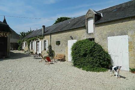 Marigny cottage & l'histoire Normande. - Longues-sur-Mer - Talo