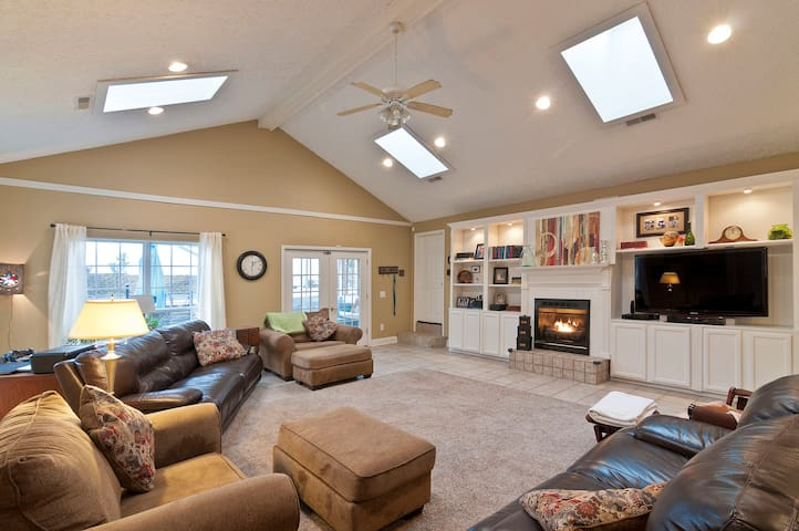 Large Family Room and Great Room