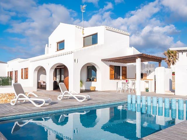 Spectacular Villa with sea views, Minorca