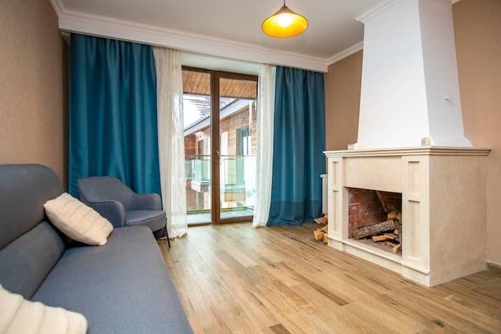 ❄Stylish 2BR apt. w/ 3 balconies in new Gudauri❄