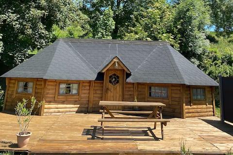 Cabane au coeur de la nature, petit paradis