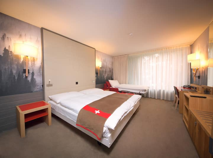 HOTEL AGORA SWISS NIGHT - STUDIO WITH KITCHENETTE