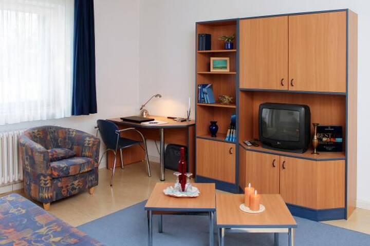 Charmante 1-Zimmerwohnung mit Blick ins Grüne