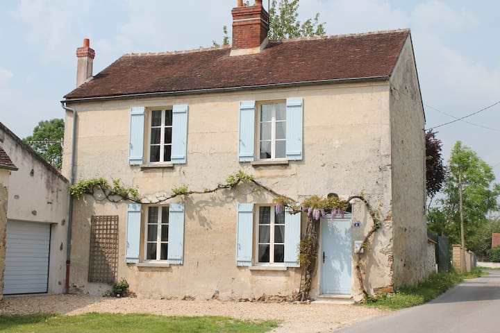 Quiet house between Paris-Disney-Reims-Provins - Saint-Germain-sous-Doue - Rumah