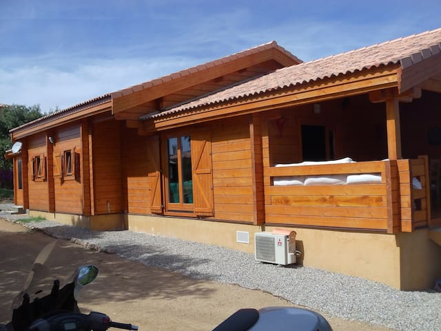 maison en bois agreable et au calme - Sant'Andréa-d'Orcino