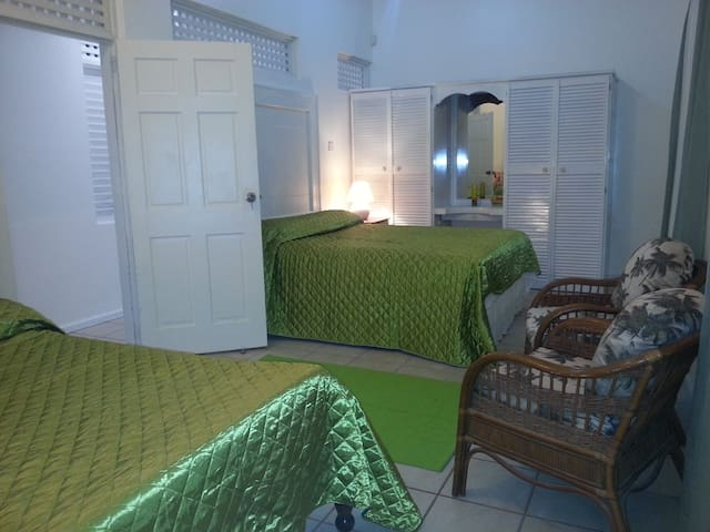 Another picture of the two bedded room