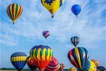 The Balloon Festival      July 28 - 30                     5.5 miles away
