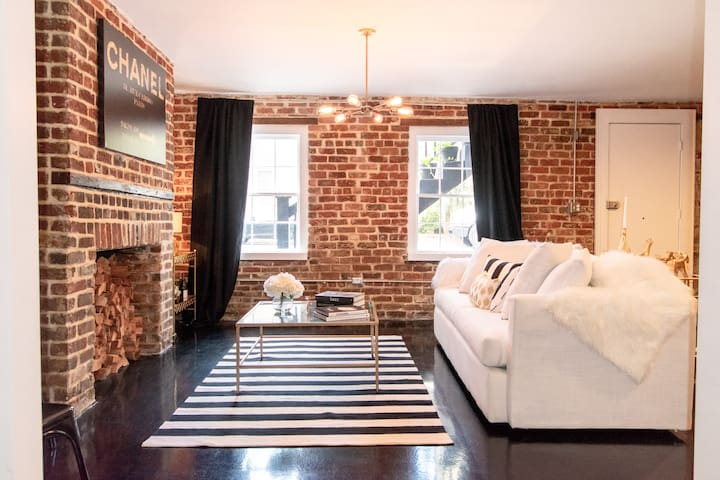 Designer Chic Full Renovation in Historic Downtown