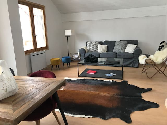 Appart Meribel Centre, 3 chambres, 7 couchages