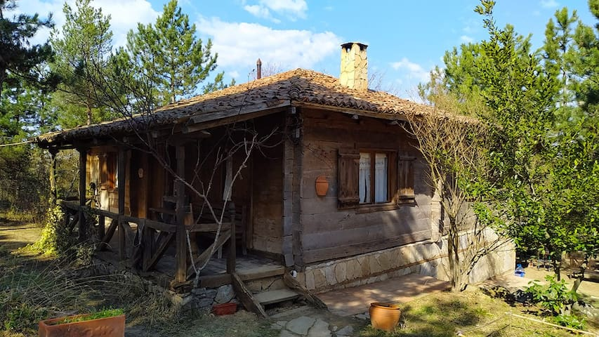 İznik Traditional Old Georgian Wooden House