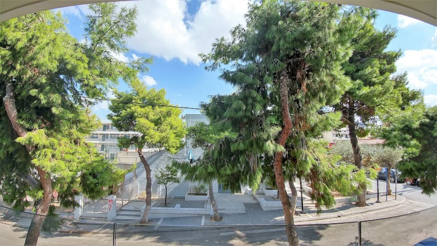 New, bright and quiet apartment in Alimos, Athens - Alimos - Apartment