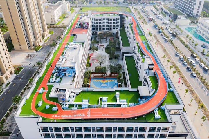 上海网红空中跑道 高品质公寓 轻奢社区