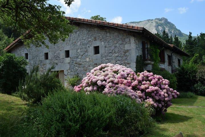 Caserio Larra, parque de Urkiola, hab. individual - Mañaria