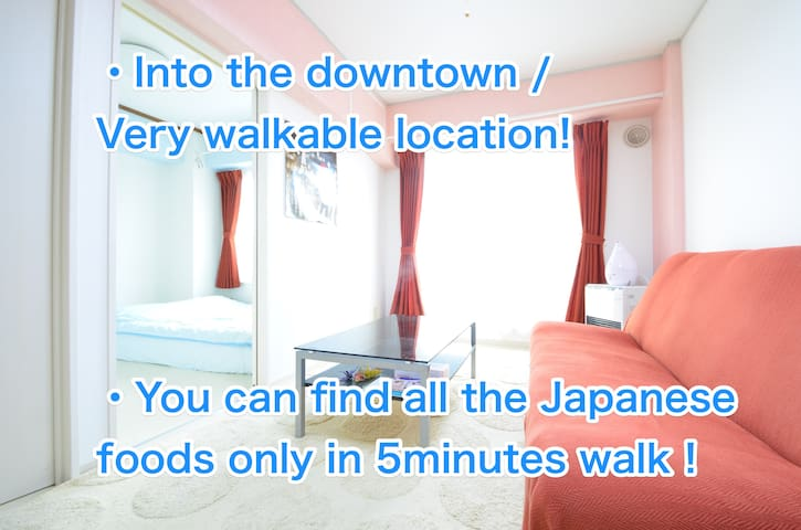 Into the downtown .Very walkable!!! - 札幌市