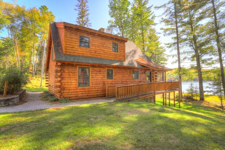 This cabin is located right on Rangeley Lake