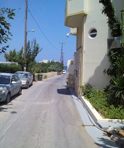 Beach apartment east west Gouves Heraklion - Apartment