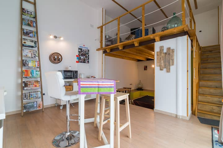 Cozy Loft_ Cagliari_Self Check-in