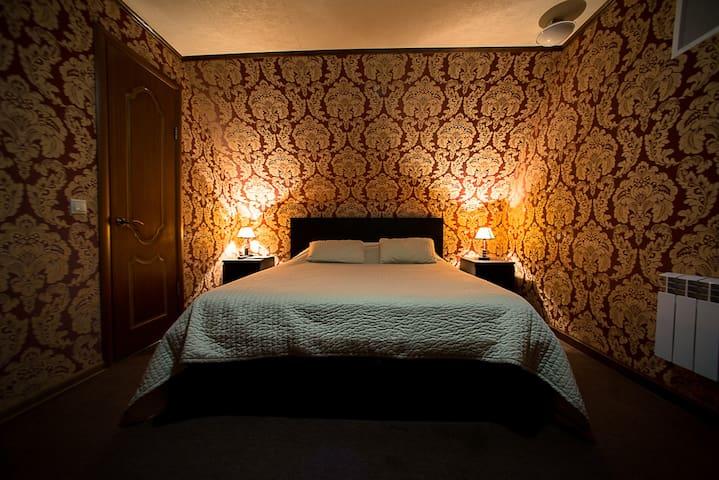 Комната в стиле модерн с удобствами у м. Дубровка - Moskva - Rumah
