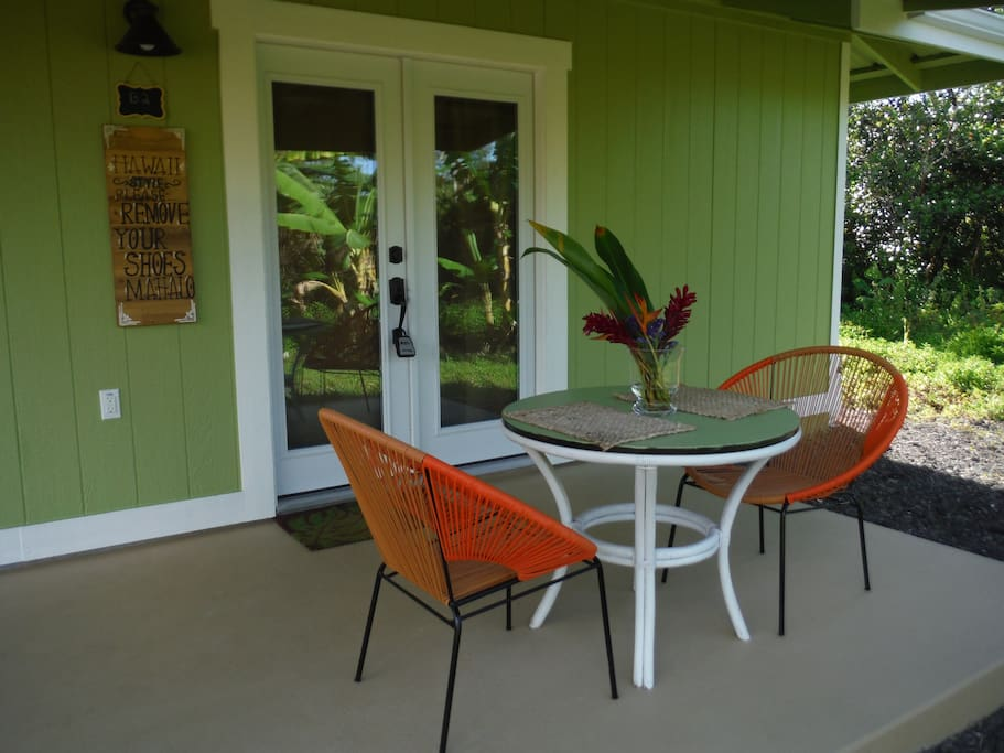 Enjoy time reading a book or just relaxing on your private Lanai