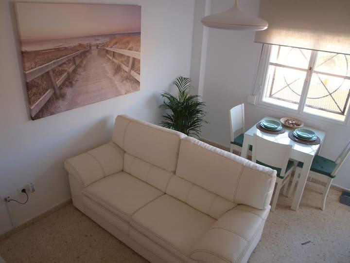 Bonito apartamento cerca de la playa