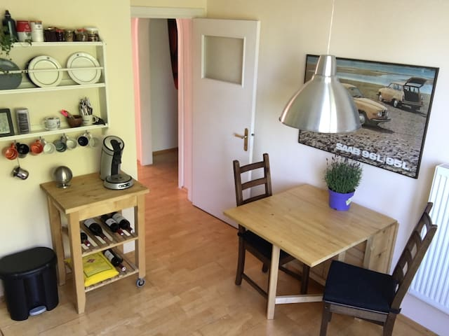 Helles Apartment in Hoheluft West, 2 km zum UKE