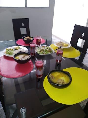 En tú casa colombiana