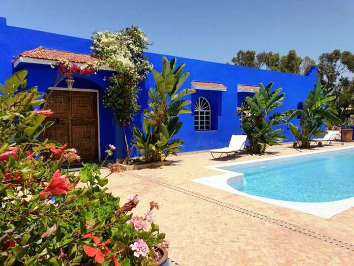 Villa berbère chic idéale famille, amis