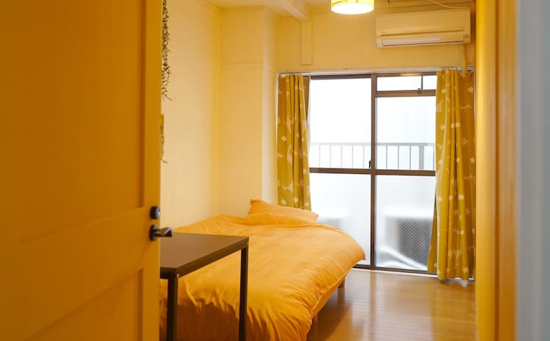 【Good Location】Eng OK! / Sunshine Room: Long Stay - Naka-ku, Nagoya-shi - Appartement