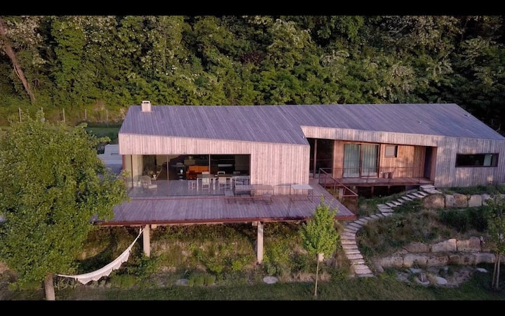 La Mugletta: a modern B&B nestled in nature