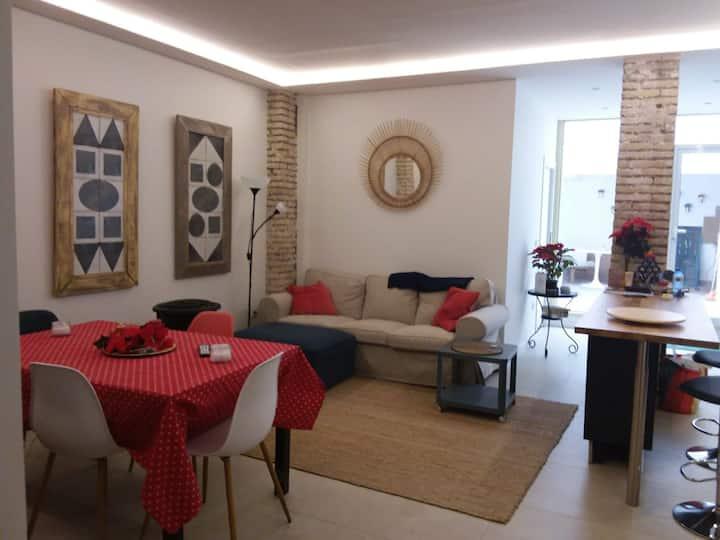 Casa con encanto en el mercado de Jesús - Patraix