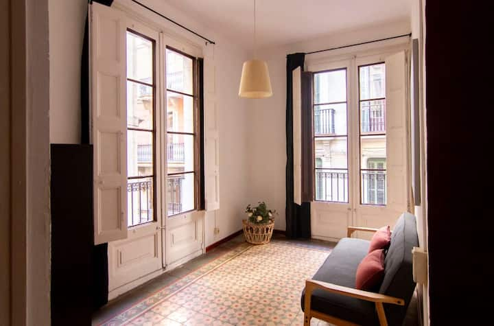 Apartamento de una habitación en el barrio gótico