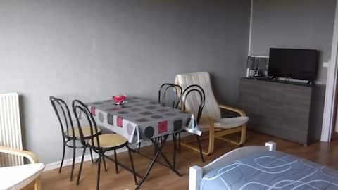 Studio à Bagnoles de l' orne avec balcon plein sud