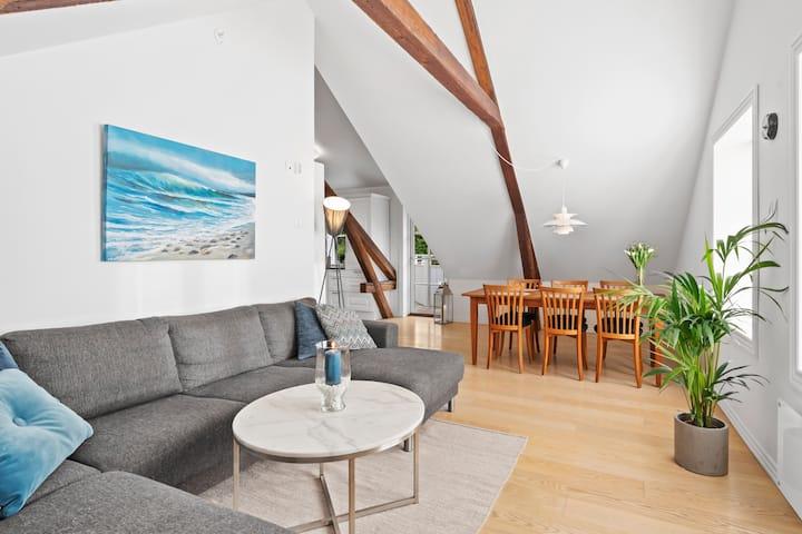 Moderne leilighet midt i hjerte av Arendal sentrum