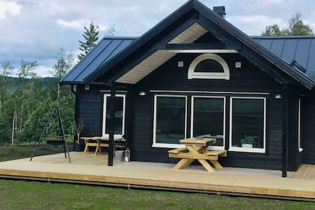 Beautiful cabin in Huså close to nature